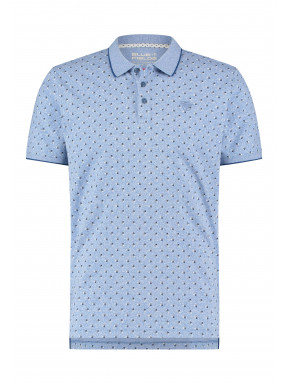 Polo-met-all-over-print