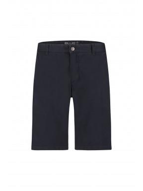Short-met-regular-fit---donkerblauw-uni