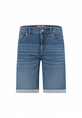 Short-denim-en-stretch-coton