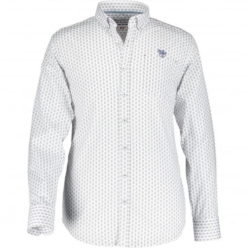 Chemise-à-col-boutonné
