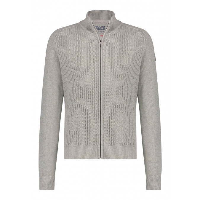 Vest-van-een-gerecyclede-polyester-mix---kit/zilvergrijs